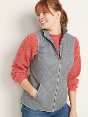 Old Navy Lightweight Diamond-Quilted Vest for Women
