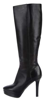 Jimmy Choo Platform Knee-High Boots