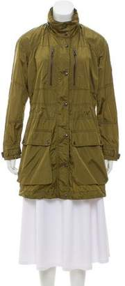 Belstaff Hooded Knee-Length Coat