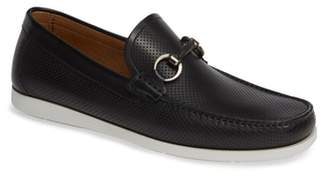 Magnanni Beasley Perforated Moc Toe Bit Loafer
