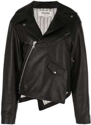 Monse asymmetric zip jacket