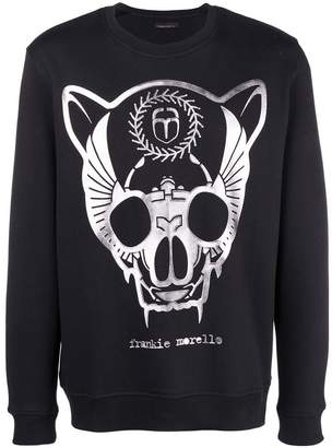 Frankie Morello graphic print sweatshirt