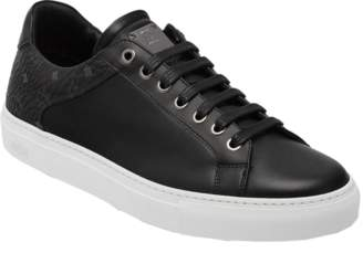 MCM Men's Low Top Classic Sneakers In Leather