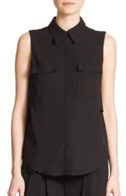 A.L.C. Benjamin Cutout Sleeveless Top