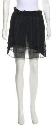 Etro Sheer Mini Skirt