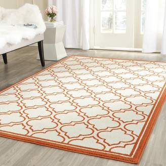Safavieh Amherst Collection AMT412F Indoor/Outdoor Area Rug, 6 Feet by 9 Feet