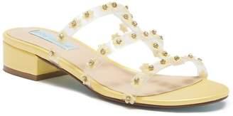 Betsey Johnson Arlyn Floral Embellished Sandal