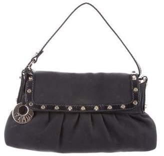 Fendi Studded Shoulder Bag