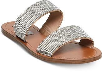 Steve Madden Rage Embellished Slide Sandals