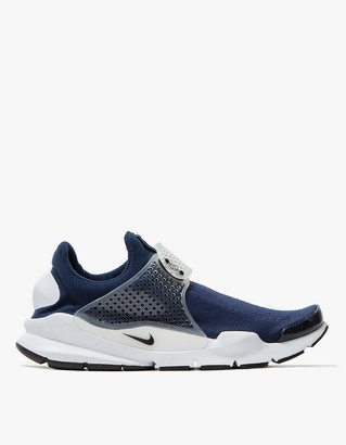 Nike Sock Dart in Midnight Navy $130 thestylecure.com