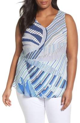 Nic+Zoe Palm Lines Top