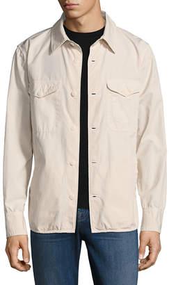 Save Khaki Multi-Pocket Shirt Jacket