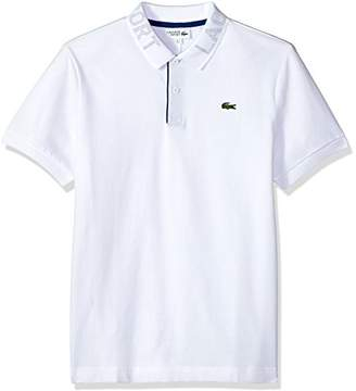 Lacoste Men's Short Sleeve Super Light Collar Polo