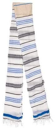 Lemlem Striped Woven Scarf w/ Tags