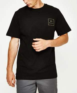 RVCA Va All The Ways Short Sleeve T-shirt Black