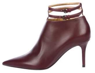 Bottega Veneta Leather Ankle Booties w/ Tags