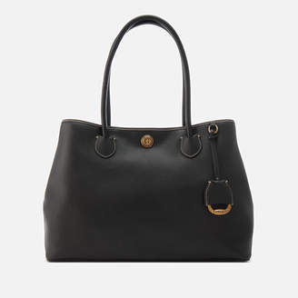 Lauren Ralph Lauren Women's Millbrook Large Market Tote Satchel - Black