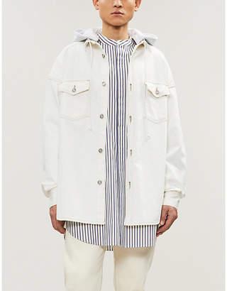 Juun.J JUUN J Drawstring denim jacket