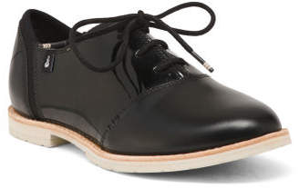 Patent Leather Comfort Oxfords