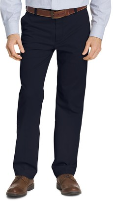 Izod Men's Classic-Fit Performance Flat-Front Pants