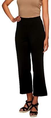 Liz Claiborne New York Petite Ponte Knit Crop Pants