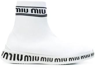 Miu Miu sock trainers