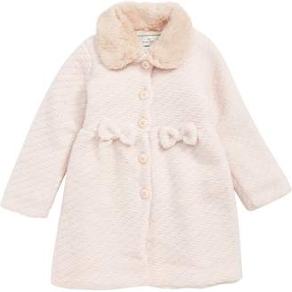 Widgeon Faux Fur Collar Coat