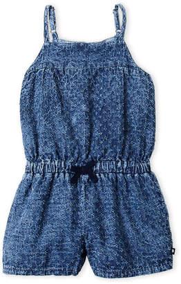 6f2c212b31de Lucky Brand Toddler Girls) Textured Chambray Romper