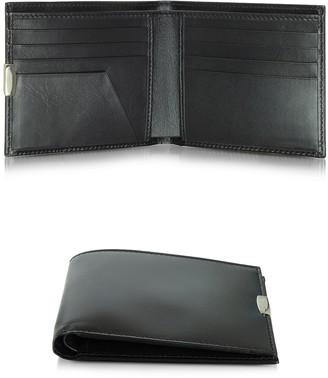 Pineider 1949 Small Black Leather Men's Wallet