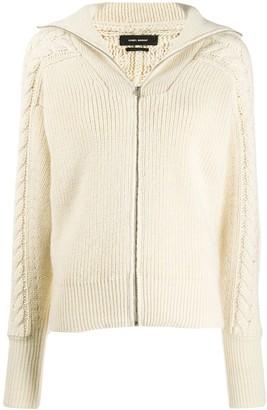 Isabel Marant Lenz cable knit cardigan