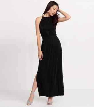 Dynamite Halter Maxi Dress JET BLACK