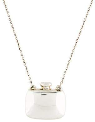 Tiffany & Co. Elsa Peretti Perfume Bottle Pendant Necklace