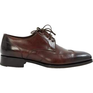 Pre Owned At Vestiaire Collective Tom Ford Brown Leather Lace Ups
