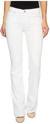 Hudson Drew Mid-Rise Bootcut in Optical White Women's Jeans