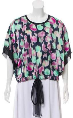 Rochas Silk Pattered Top