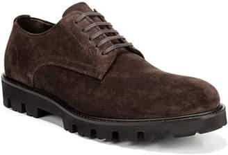 Vince Men's Cadet Suede Lug-Sole Derby Shoes