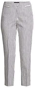 Piazza Sempione Women's Brigitte Striped Capri Pants