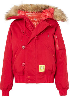 271a17a9724f Puffer Jacket With Faux Fur Trim - ShopStyle UK