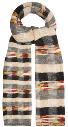 Missoni Checked Wool Blend Scarf - Womens - Multi