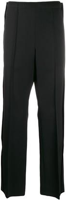 Maison Margiela front pleat tailored trousers
