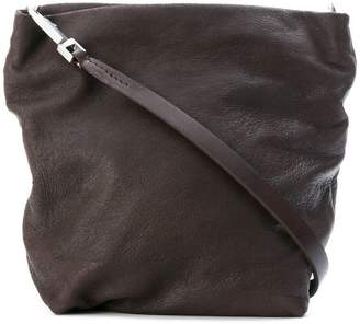 Rick Owens worn leather tote-style bag
