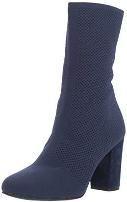 Kenneth Cole New York Women's Alyssa Stretch Shaft Boot with Heel Ankle