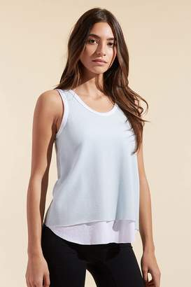 Twenty Mesh Scoop Neck Tank