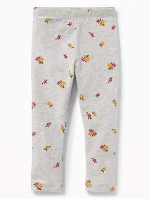 Old Navy Printed Leggings for Toddler Girls