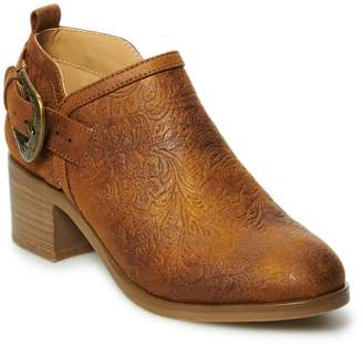 8ab2f9976d0 Sonoma Goods For Life SONOMA Goods for Life Etching Women's Ankle Boots