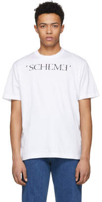 John Lawrence Sullivan Johnlawrencesullivan White Scheme T-Shirt