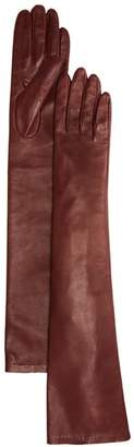 Bloomingdale's Long Leather Gloves - 100% Exclusive
