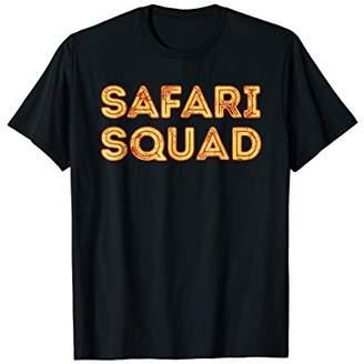 Safari Squad - Funny Family Trip Matching Gift T-Shirt