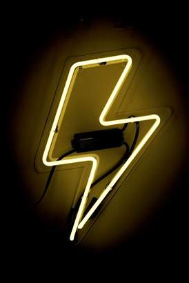 Oliver Gal Gallery Bolt Neon Sign