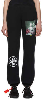 Off-White Black and Multicolor Mariana De Silva Slim Lounge Pants